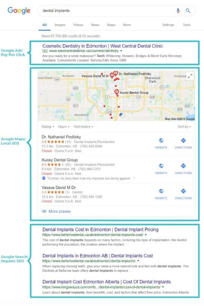 Google Maps How To Be On First Page Google Using Google My Business