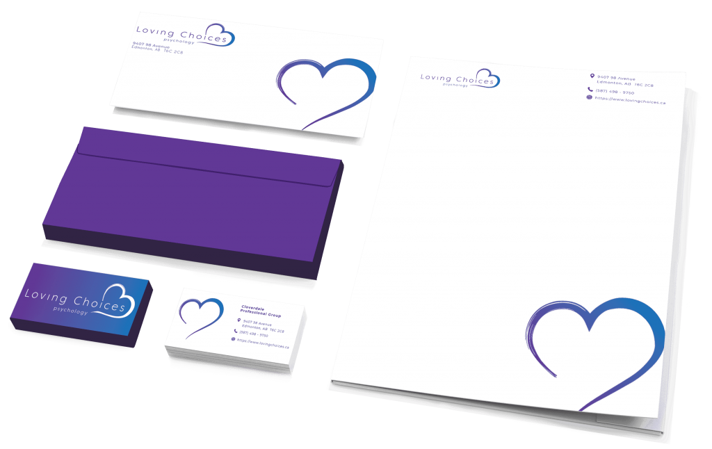 Logo Business Cards Branding Brand Edmonton